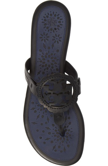 Tory Burch Black/Navy Sandals Image 2