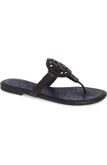 Tory Burch Black/Navy Sandals Image 3
