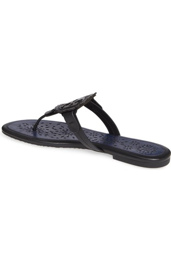 Tory Burch Black/Navy Sandals Image 4