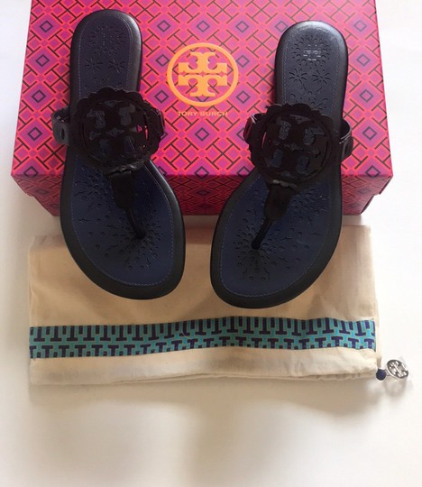 Tory Burch Black/Navy Sandals Image 6