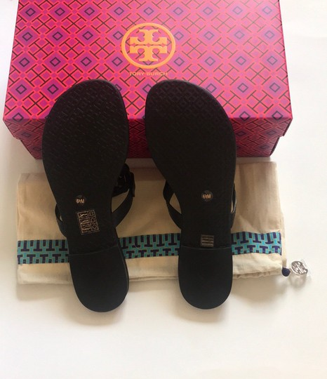Tory Burch Black/Navy Sandals Image 7