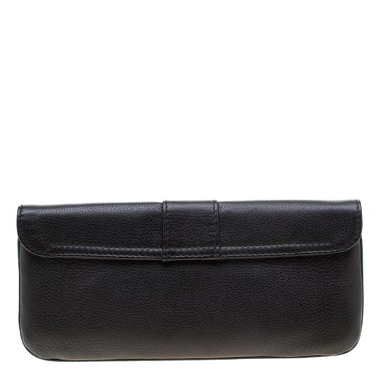 Gucci Leather Black Clutch Image 1