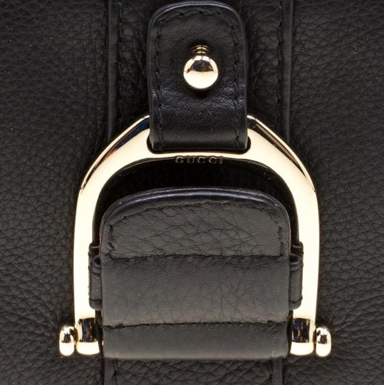 Gucci Leather Black Clutch Image 10