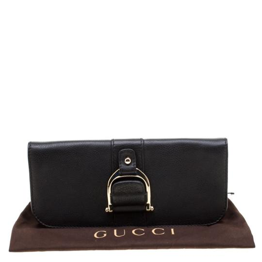 Gucci Leather Black Clutch Image 11