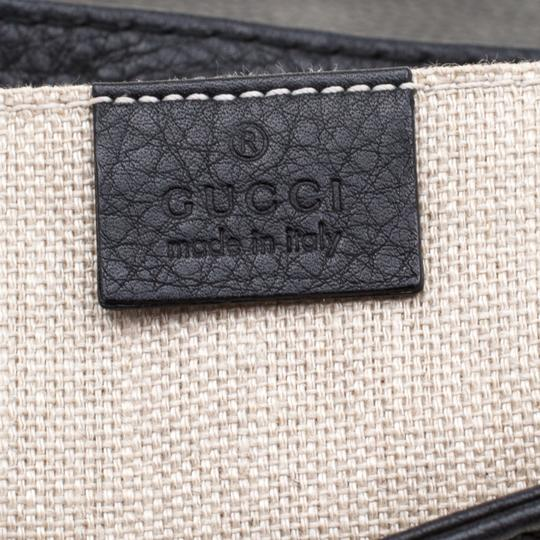 Gucci Leather Black Clutch Image 9