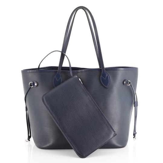 Louis Vuitton Neverfull Epi Leather Tote in blue Image 1