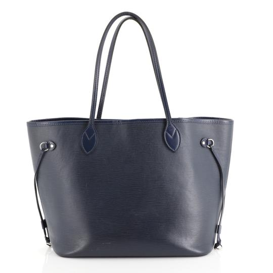 Louis Vuitton Neverfull Epi Leather Tote in blue Image 3