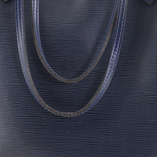 Louis Vuitton Neverfull Epi Leather Tote in blue Image 7