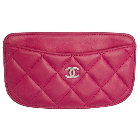 Preload https://img-static.tradesy.com/item/25877967/chanel-pink-quilted-leather-card-holder-wallet-0-0-540-540.jpg