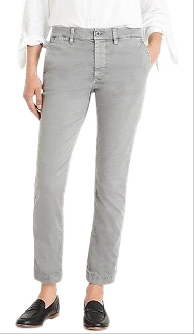 Item - Grey Distressed Slim Boy Chino Skinny Jeans Size 00 (XXS, 24)