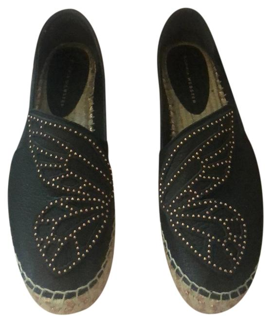 Item - Black & Rose Gold Bibi Butterfly Espadrille Flats Size EU 40 (Approx. US 10) Regular (M, B)