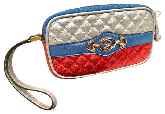 Preload https://item3.tradesy.com/images/gucci-red-gg-pouch-cell-phone-holder-cosmetic-bag-25878022-0-1.jpg?width=440&height=440
