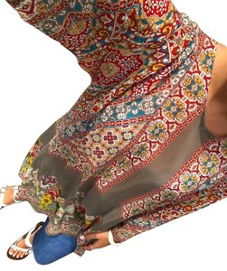 Johnny Was Floral Sundress Resort Rayon Casual Tunic