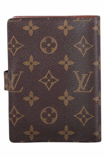 Louis Vuitton Monogram Canvas Small Ring Agenda Cover Image 1