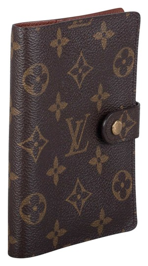 Louis Vuitton Monogram Canvas Small Ring Agenda Cover Image 2