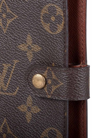Louis Vuitton Monogram Canvas Small Ring Agenda Cover Image 3