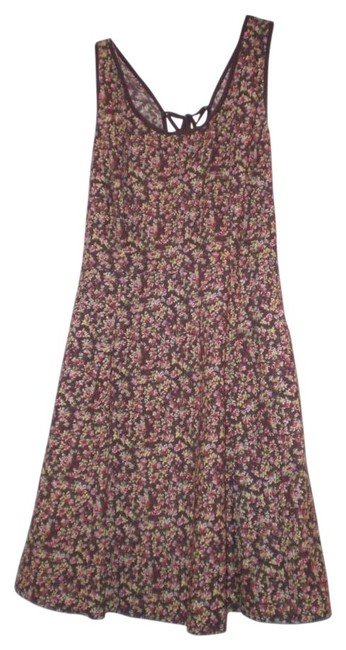 American Rag short dress Brown/Floral on Tradesy
