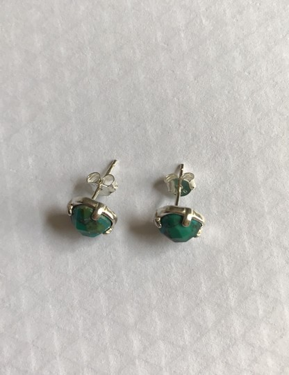 Silpada Silpada Turquoise Sterling Silver Stud Post Earring Image 1