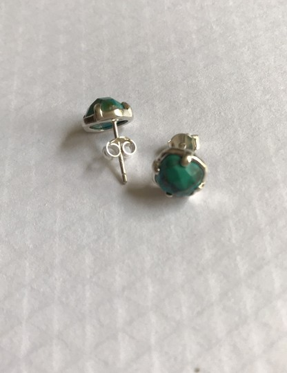 Silpada Silpada Turquoise Sterling Silver Stud Post Earring Image 2