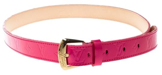 Louis Vuitton Rose Pop Vernis Belt 80cm Image 0