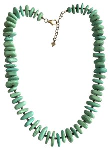 Silpada Silpada Sterling Silver Chunky Turquoise Nugget Statement Necklace
