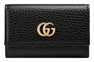 Gucci GUCCI GG Marmont leather key case
