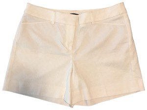 White House | Black Market Mini/Short Shorts white