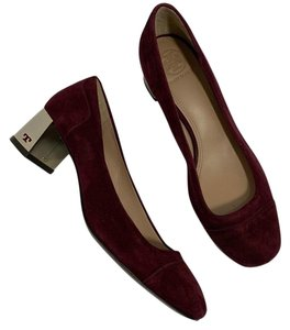 Tory Burch plum purple Pumps