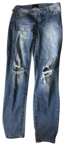Celebrity Pink Skinny Jeans-Distressed