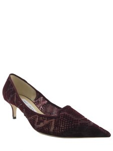 Jimmy Choo Burgundy Pumps