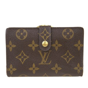 Louis Vuitton Auth LOUIS VUITTON Portefeuille Viennois Bifold Wallet Monogram