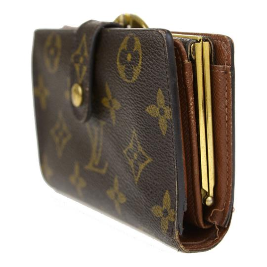 Louis Vuitton Auth LOUIS VUITTON Portefeuille Viennois Bifold Wallet Monogram Image 1