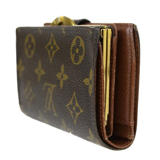 Louis Vuitton Auth LOUIS VUITTON Portefeuille Viennois Bifold Wallet Monogram Image 2