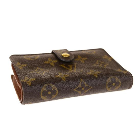 Louis Vuitton Auth LOUIS VUITTON Portefeuille Viennois Bifold Wallet Monogram Image 3
