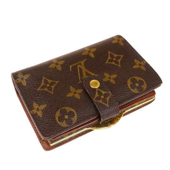 Louis Vuitton Auth LOUIS VUITTON Portefeuille Viennois Bifold Wallet Monogram Image 4