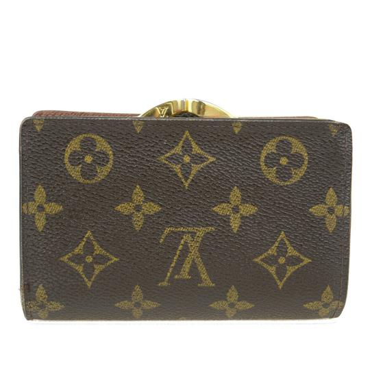 Louis Vuitton Auth LOUIS VUITTON Portefeuille Viennois Bifold Wallet Monogram Image 5