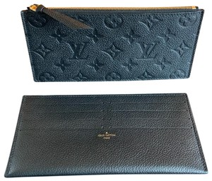 Louis Vuitton felicie zippy and credit cards inserts