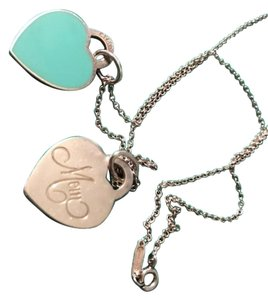 Tiffany & Co. Tiffany original necklace and a mother necklace