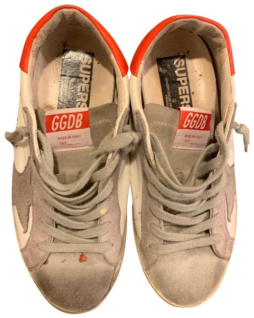 Item - And Gently Worn Distressed Low Top Sneakers Size EU 37 (Approx. US 7) Regular (M, B)