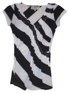 Urban Outfitters T Shirt Black/White