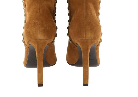 Saint Laurent Women's Suede Brown Boots Image 5