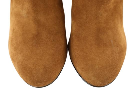 Saint Laurent Women's Suede Brown Boots Image 6