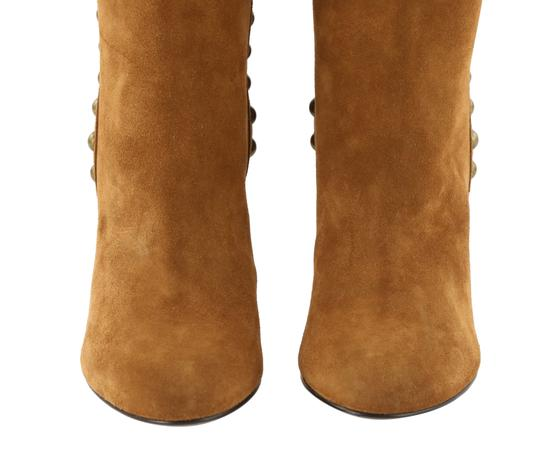 Saint Laurent Women's Suede Brown Boots Image 7