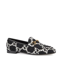 Gucci Black &White Flats