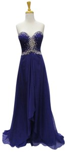Mac Duggal Couture Prom Homecoming Strapless Dress