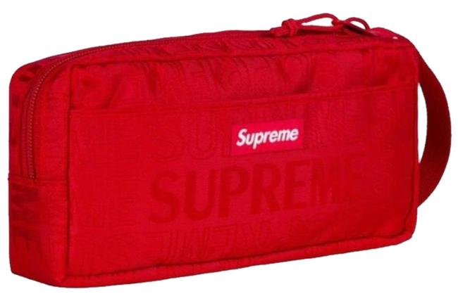 Item - Red Ss19 Organizer Pouch Cosmetic Bag