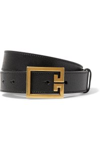 Givenchy Textured-leather belt size 85