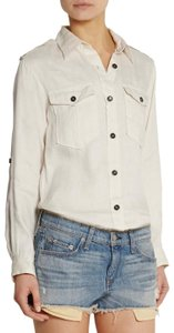 Isabel Marant Button Down Shirt Ivory