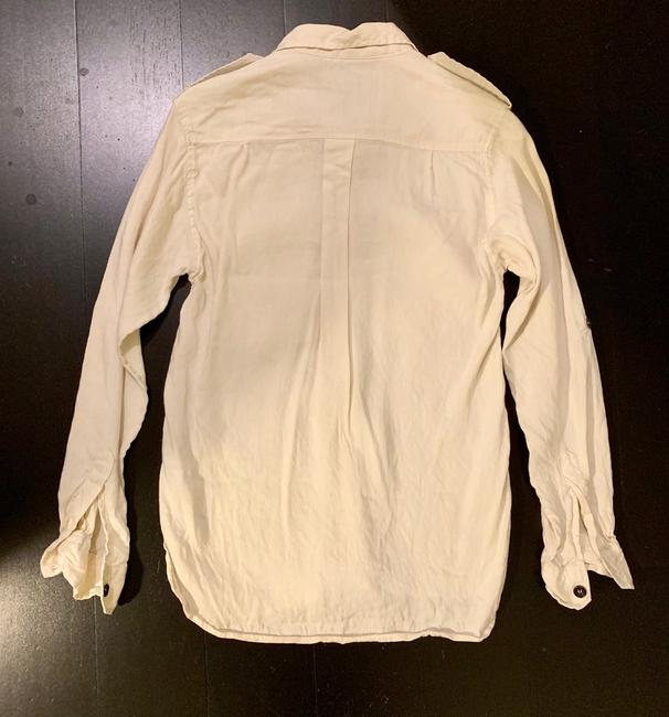 Isabel Marant Button Down Shirt Ivory Image 2