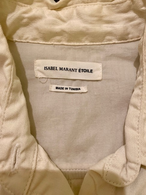 Isabel Marant Button Down Shirt Ivory Image 3
